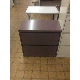 18x30x28  mauve 2 drawer lateral file (3/28/19)