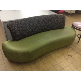 lime green patterned couch 12/10/18