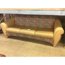yellow pattered couch 12/10/18