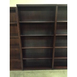 13x36x73 Cherry 5 shelf bookcase 12/20/18
