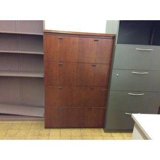 "21x35 1/2x56"" wood 4 drawer Lat. File (1/2/19)"