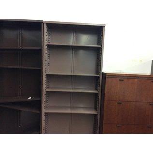 "12x36x84"" mauve metal Bookcase (10/06/20)"