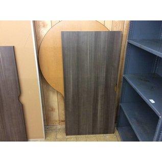 "29 1/2x60x1"" Gray wood laminate countertop (1/9/19)"
