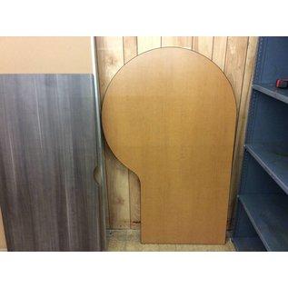 41 1/2x66 Wood laminate P-shape countertop (1/9/19)