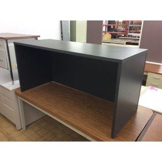 "24x60x28 1/2"" Gray wood laminate table (1/9/19)"