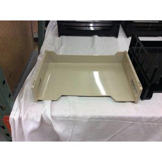 Beige plastic single paper tray (1/9/19)