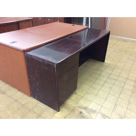"""20x72x29"""" Cherry wood credenza (1/17/19)scratched"""