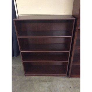 11 1/2x35 1/2x48 Cherry wood bookcase 12/20/18