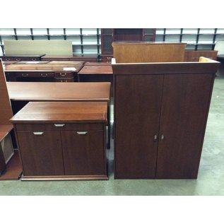 22x37 1/2x79 Cherry cabinet 12/20/18