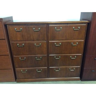 19x60x55 Cherry 8 drawer dbl lateral file 12/20/18