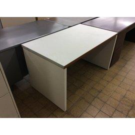 "30x51x29"" White wood work table (2/7/19)"
