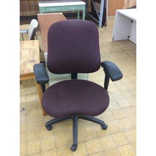 Purple Rolling Desk Chair W/arms 2/14/19