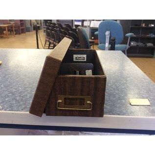 Card File box (8-6-19)