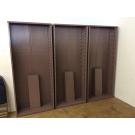 "12x36x84 1/4"" Mauve metal bookcase (3/13/19)"