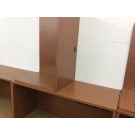 """24x59"""" Desk with rt rtn 24x42"""" (3/26/19)"""