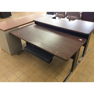 30x60x26 dark wood table 3/27/19