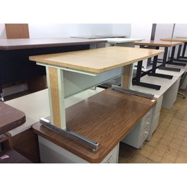 "30x60x26 1/2"" Wood top computer table (4/3/19)"
