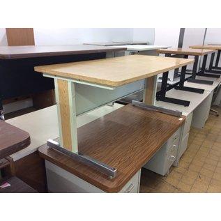 "30x60x26 1/2"" Wood top computer table (4/3/19)"