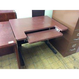 "30x36x29"" Computer Table w/keyboard tray (4/3/19)"