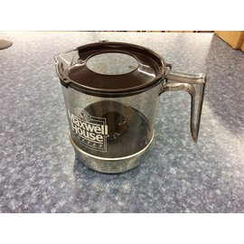 Maxwell House coffee bowl w/brown lid-New (4/4/19)