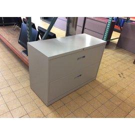 """18x42x29"""" grey metal 2 drawer Lat. File (4/8/19)"""
