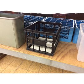 Black plastic file crate (4/16/18)