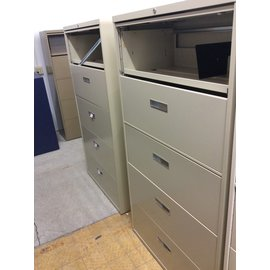 18x36x65 beige 5 drawer lateral file 4/17/19