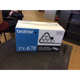 Brother Toner cartridge TN-670 (4/22/19)