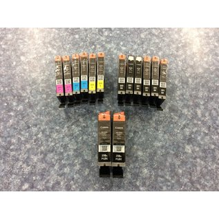 Canon 251/250XL Ink Cartridge 14pk -New (9/17/19)