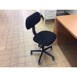 Black padded task chair (5/15/19)