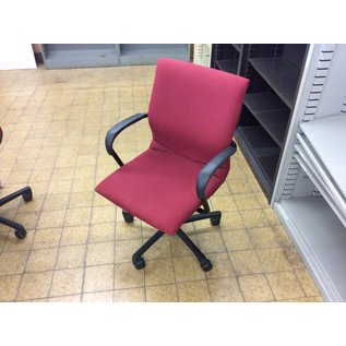 Red desk chair (6/6/19)