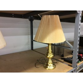 "28"" Brass table lamp (5/29/19)"