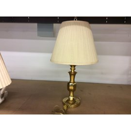 "26 1/2"" Brass table lamp (5/29/19)"