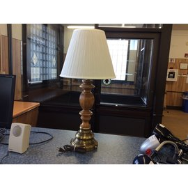 "27 1/2"" Wood-look Table Lamp (6/3/19)"