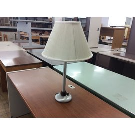 "27"" silver tone table Lamp (6/10/19)"