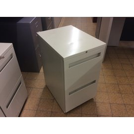 "15x20x27"" Beige 2 drawer file cabinet (6/18/19)"