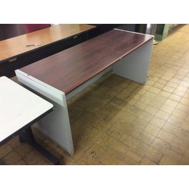 "25x65x30"" Lt gray work table (6/18/19)"
