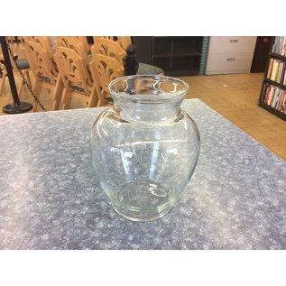 Medium glass vase (6/21/19)