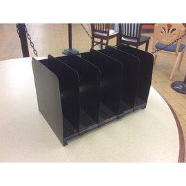Black 5 slot metal adjustable file organizer (6/24/19)