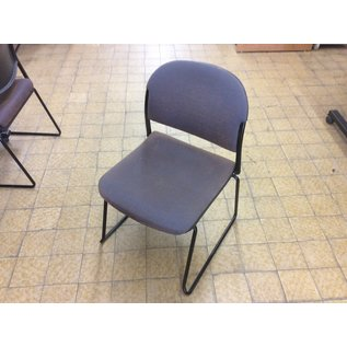 Brown sled base stacking chair (6/27/19)
