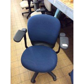 Blue Padded Desk Chair on Castors 7/17/19