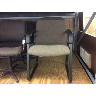 Brown padded side chair (7/24/19)