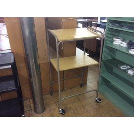 """20x30x54"""" Wood/metal A/V Projector Cart on castors (8/1/19)"""