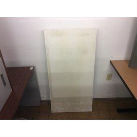"24x48x14"" White wood folding coffee table (8/14/19)"