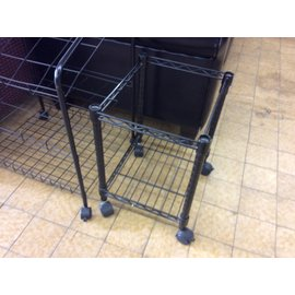 14x16x20 Black wire hanging file cart (8/21/19)
