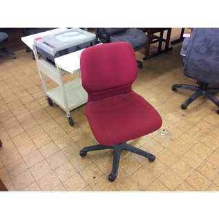 Red desk chair (8/21/19)