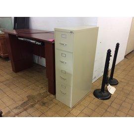 Beige 4 drawer vertical file cabinet (04/22/2021)