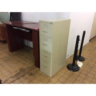 Beige 4 drawer vertical file cabinet (10/15/2020)