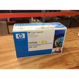 HP C9722A Yellow Print Cartridge (9/17/19)