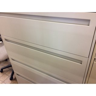19x42x53 Beige 4 drawer lateral file (9/24/19)